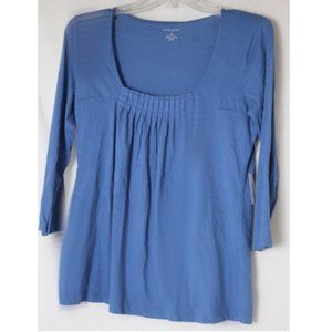 Banana Republic Sky Blue Blouse M NWT